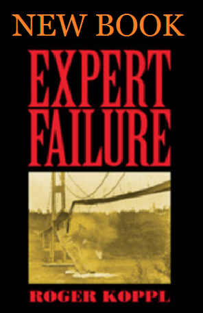 New Book: Expert Failure