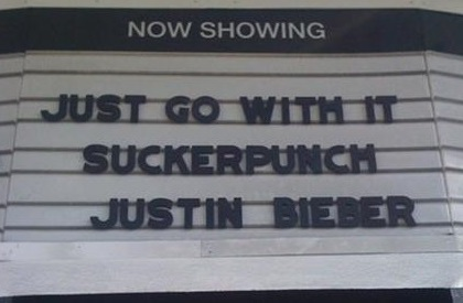 JUST GO WITH IT SUCKERPUNCH JUSTIN BIEBER